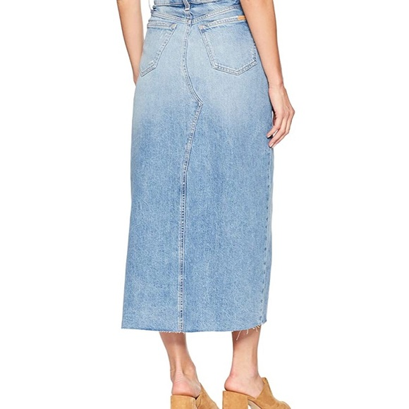 Joes Jeans Womens High Rise Long Skirt